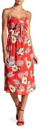 Flying Tomato Halter Floral Print Dress