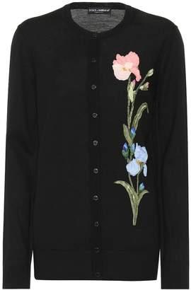 Dolce & Gabbana Embellished wool cardigan