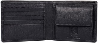 Hanson Karla Men's Leather Wallet with Coin Pocket