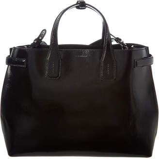 77c150a98 Burberry Black Soft Leather Handbags - ShopStyle
