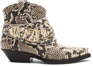 Zimmermann Snakeskin Embossed Cowboy Boots