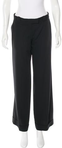 Stella McCartneyStella McCartney Wide-Leg Wool Pants