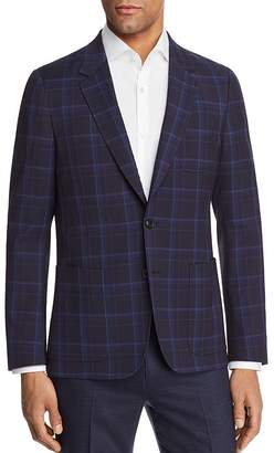 Paul Smith Large Scale Check Unconstructed Slim Fit Sport Coat