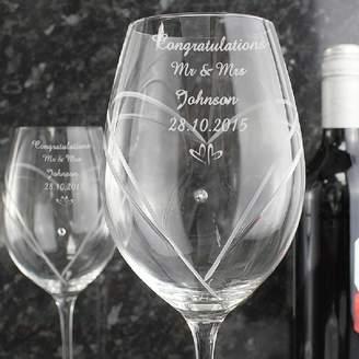 Swarovski Diamond Affair Crystal Wine Glasses With Elements