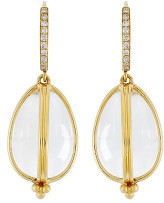 Women's Temple St. Clair Dia Classic Amulet Drop Earrings $2,500 thestylecure.com