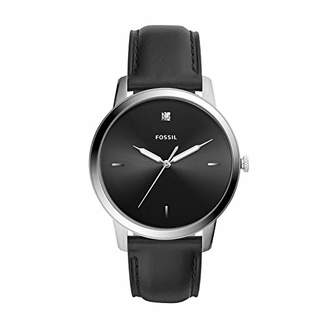 Fossil Men's 'The Minimalist 3H' Quartz Stainless Steel and Leather Watch