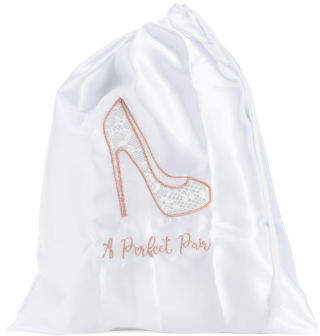 A Perfect Pair Bridal Shoe Bag