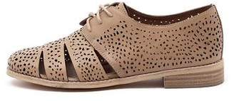Django & Juliette New Abra Latte Womens Shoes Casual Shoes Flat