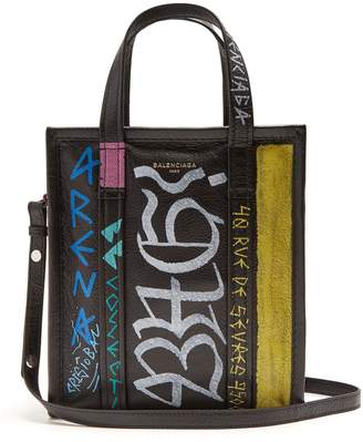 Balenciaga Bazar shopper XS Graffiti