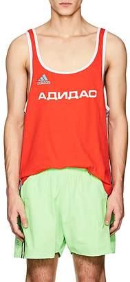 Gosha Rubchinskiy X adidas Men's Logo Cotton-Blend Tank