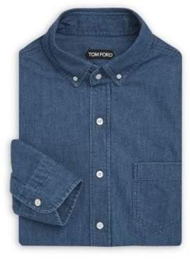 Tom Ford Casual Denim Dress Shirt