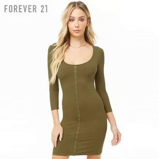Forever 21 (フォーエバー 21) - Forever 21 リブタイトワンピース