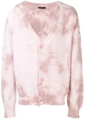 Riccardo Comi tie-dye button cardigan