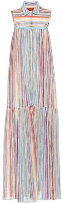 Missoni Mare Striped knit maxi dress