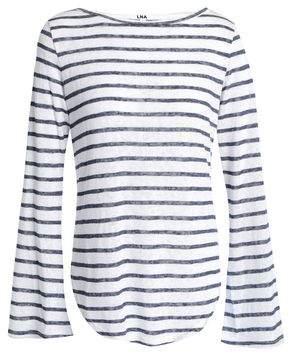 LnA Striped Slub Jersey T-Shirt