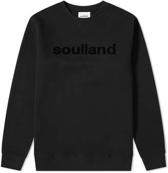 Soulland Logic Logo Crew Sweat