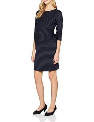 Noppies Women's Dress 3/4 SLV Mai (Dark Blue C5), (Size: XXL)