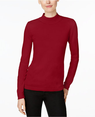 Charter Club Mock-Turtleneck Sweater, Only at Macy's $59.50 thestylecure.com