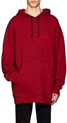 Calvin Klein Men's Logo Cotton Terry Oversized Hoodie