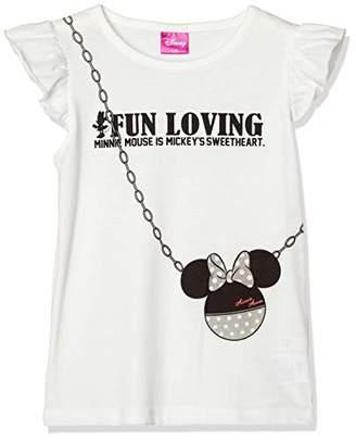 Disney (ディズニー) - [ディズニー] ミニー モノトーン ポシェット タンクトップ 女の子 332222101 ホワイト 日本 100 (日本サイズ100 相当)