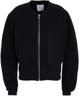 Zoe Karssen Printed Cotton-blend Bomber Jacket