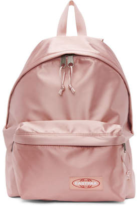 Eastpak Pink Satin Padded Pakr Backpack