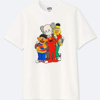 Uniqlo Kaws X Sesame Street Graphic T-Shirt