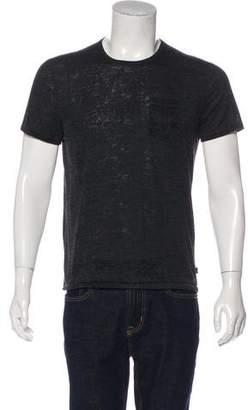 John Varvatos Patterned Crew Neck T-Shirt