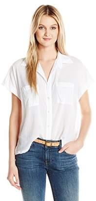 Enza Costa Women's Sleeveless Boxy Shirt