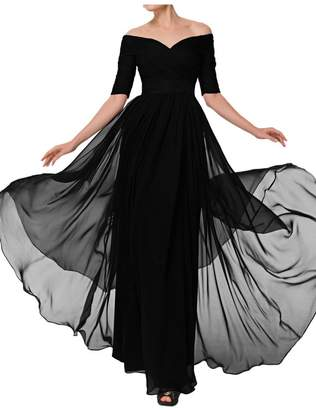 Glamorous Avril Dress Evening Dress Mother of Bride Half Sleeves Empire Bateau-US