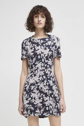 French Connection Rishiri Stretch Floral Dress