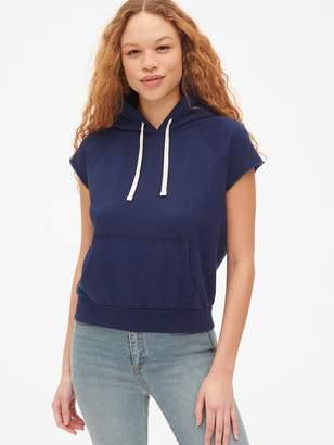 Gap Vintage Soft Short Sleeve Hoodie