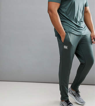 Canterbury of New Zealand PLUS Tapered Stretch Joggers In Khaki Exclusive To ASOS