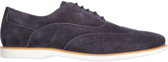Hogan Classic Suede Lace Up Laced Formal Shoes Oxford H262