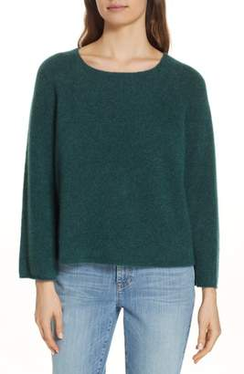 Eileen Fisher Bell Sleeve Cashmere Blend Sweater