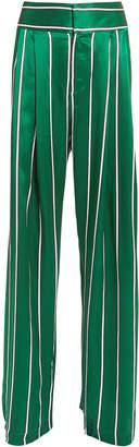 Maggie Marilyn Love Unconditionally Jade Stripe Silk Pant