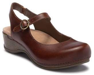 Dansko Maureen Wedge Mary Jane Clog