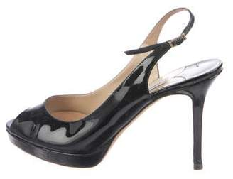 Jimmy Choo Patent Leather Slingbacks