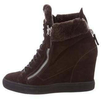 Giuseppe Zanotti May London Wedge Sneakers