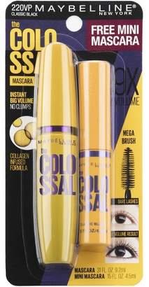 Maybelline Colossal + Mini Mascara Classic Black - 0.42oz