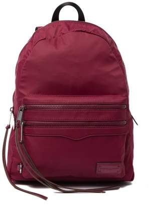 Rebecca Minkoff Large Two Zip Nylon Backpack
