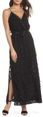 Ali & Jay Roosevelt Life V-Neck Maxi Dress