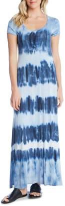 Karen Kane Tie-Dye Maxi Dress