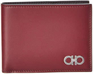 Salvatore Ferragamo U.S. Leather Bifold Wallet