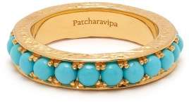 Patcharavipa - Turquoise & 18kt Gold Ring - Womens - Blue