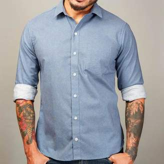Blade + Blue Blue Japanese Wave Print Shirt - Zachary