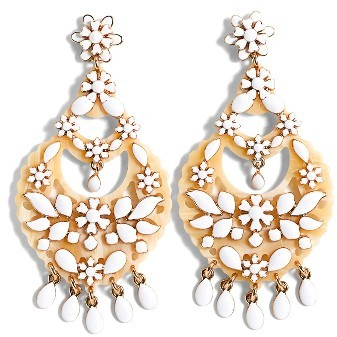 J.Crew Women's J.crew Floral Chandelier Earrings