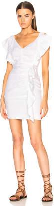 Etoile Isabel Marant Topaz Chic Linen Dress