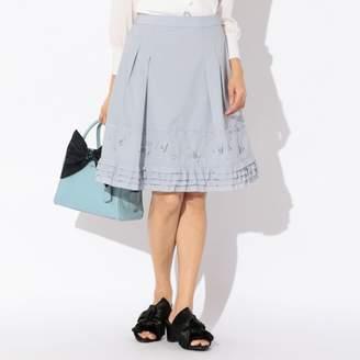 To Be Chic (トゥー ビー シック) - トゥー ビー シック タフタ刺繍スカート