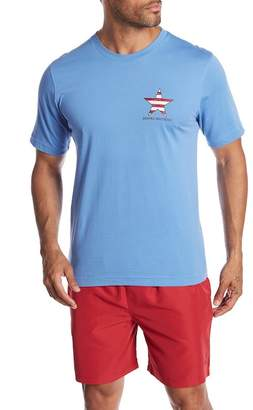 Brooks Brothers Flag Tee
